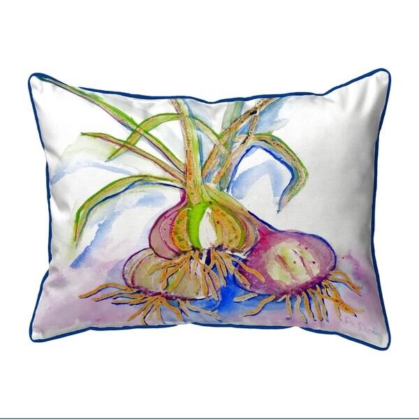 Vidalia Onions Extra Large Zippered Pillow 20x24