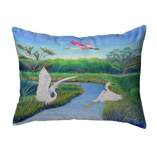 Marsh Wings No Cord Pillow 16x20