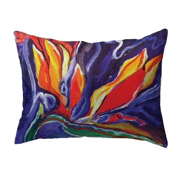 Purple Paradise Small No-Cord Pillow 11x14