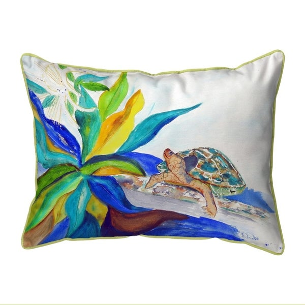 Turtle & Lily Extra Large Corded Pillow 20x24