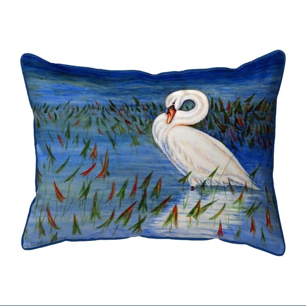 Mute Swan Extra Large Pillow 20x24