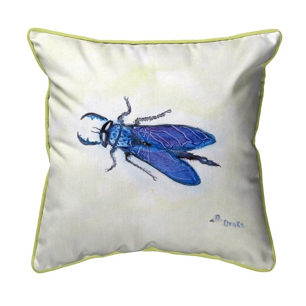 House Fly Small Pillow 12x12
