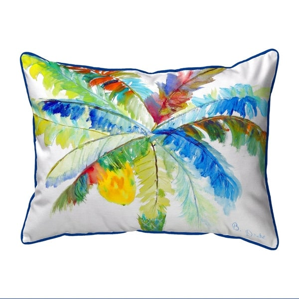 Big Palm Small Pillow 11x14