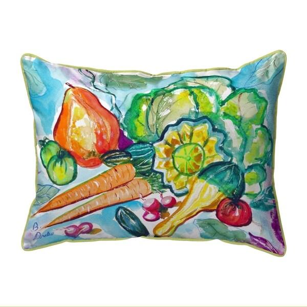 Still Life Extra Large Zippered Pillow 20x24
