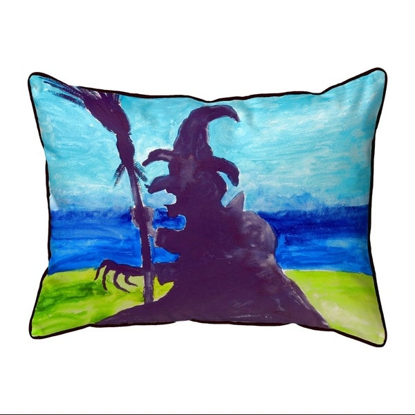 Wicked Witch Extra Large Zippered Pillow 20x24