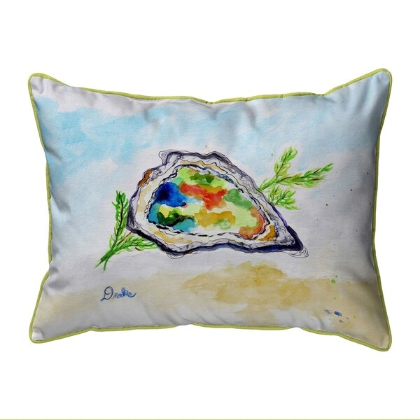 Colorful Oyster Extra Large Zippered Pillow 20x24