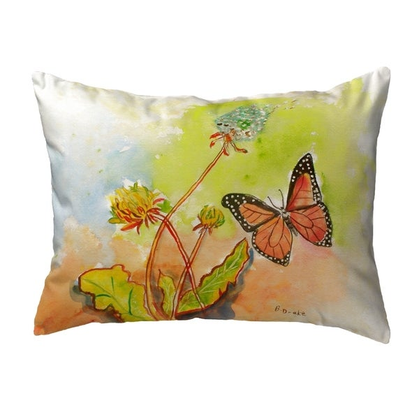 Betsy's ButterFly Small No-Cord Pillow 11x14