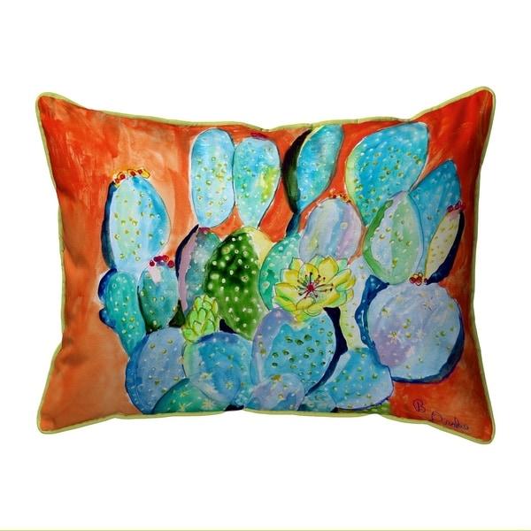 Cactus II Extra Large Zippered Pillow 20x24