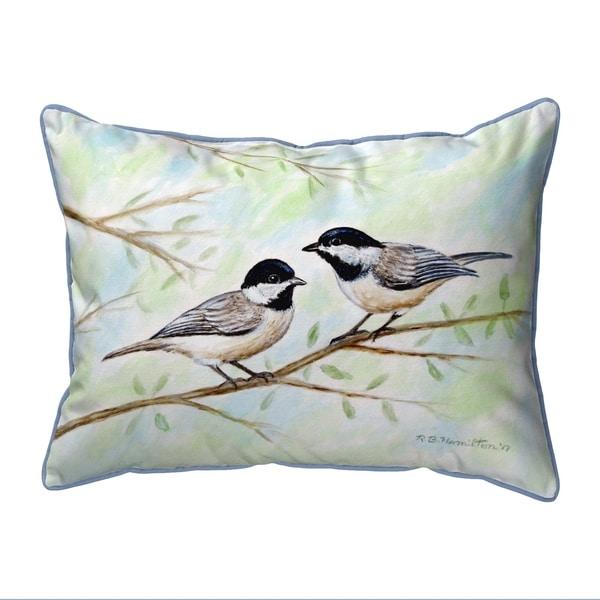 Dick's Chickadees Extra Large Pillow 20x24