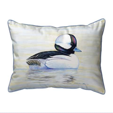 Bufflehead Duck Small Outdoor Pillow 11x14