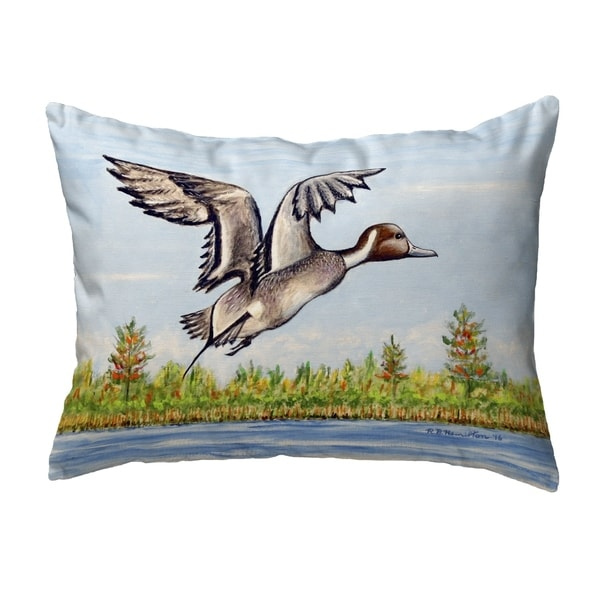 Pintail Duck Small No-Cord Pillow 11x14