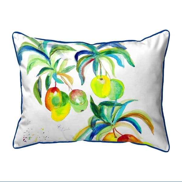 Mango Tree Extra Large Zippered Pillow 20x24