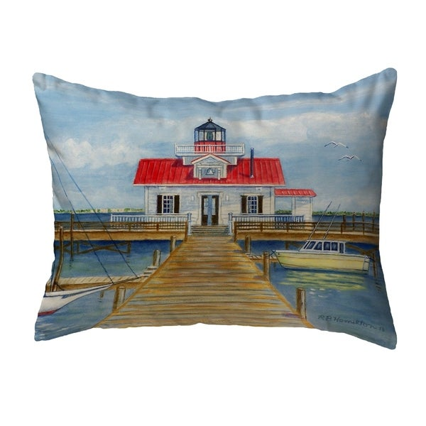 Marshes Lighthouse Noncorded Pillow 11x14