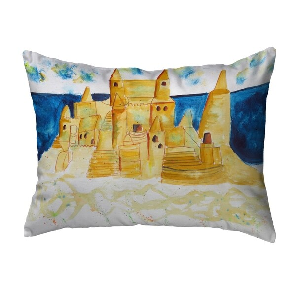 Sand Castle Noncorded Pillow 16x20