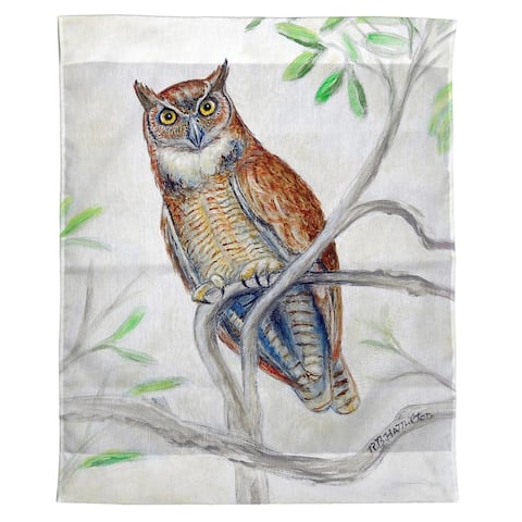 Great Horned Owl Wall Hanging 24x30
