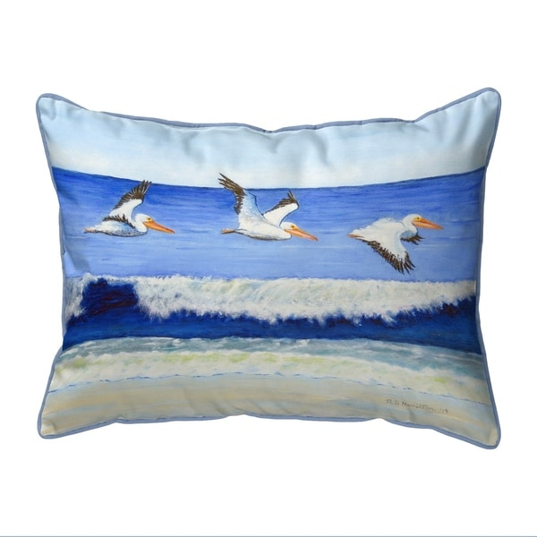 Skimming the Surf Small Corded Pillow 11x14
