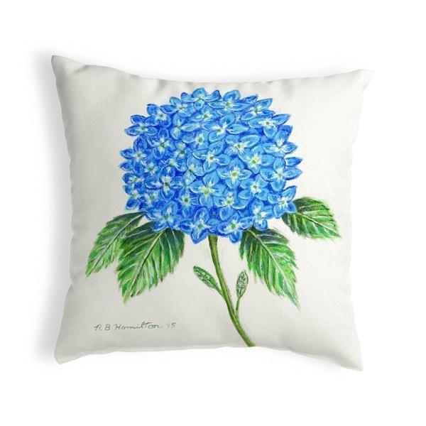 Dick's Hydrangea Small No-Cord Pillow 12x12