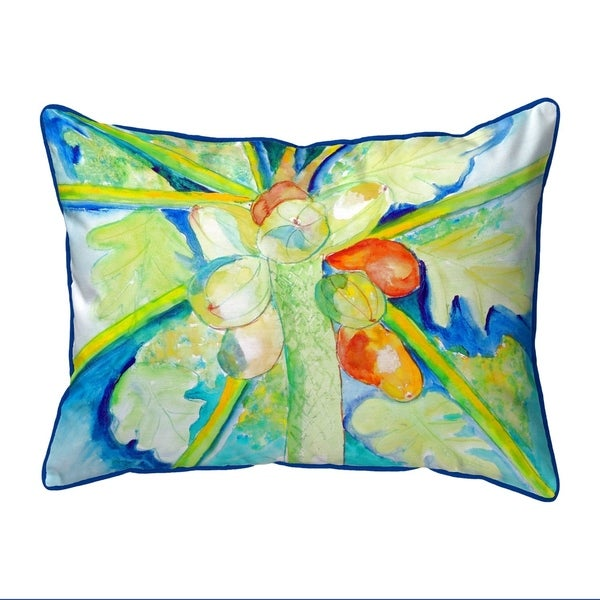 Big Cocoa Nuts Extra Large Zippered Pillow 20x24