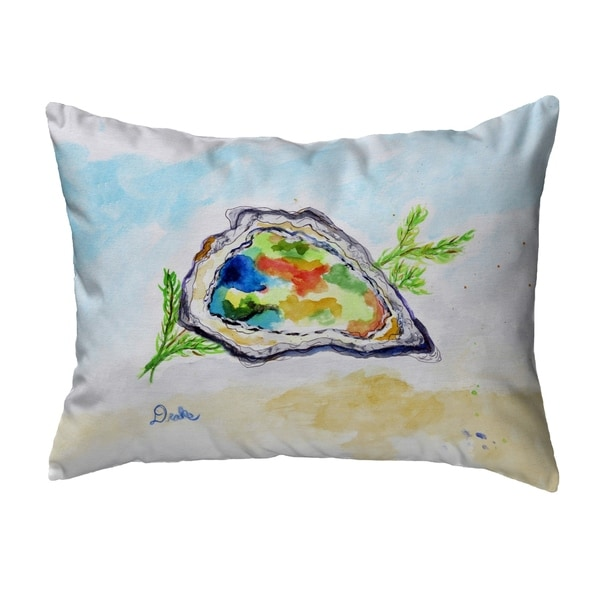 Colorful Oyster Noncorded Pillow 16x20