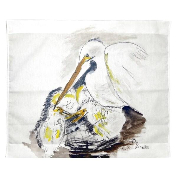 Egret & Chicks Wall Hanging 24x30