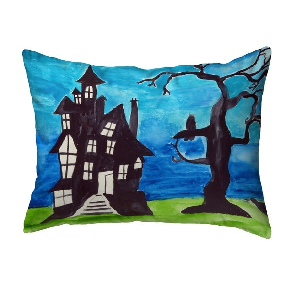 Haunted House No Cord Pillow 16x20
