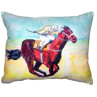 Airborne Horse No Cord Pillow 16x20