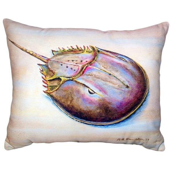Horseshoe Crab No Cord Pillow 16x20