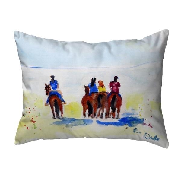 Beach Riders Noncorded Pillow 16x20