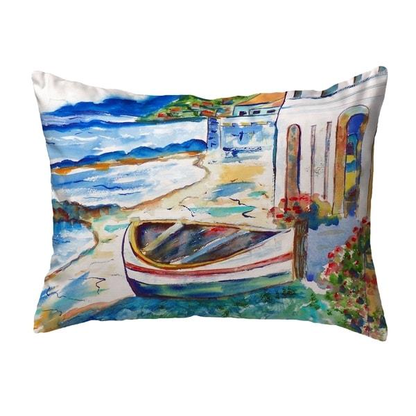 Sicilian Shore Small No-Cord Pillow 11x14