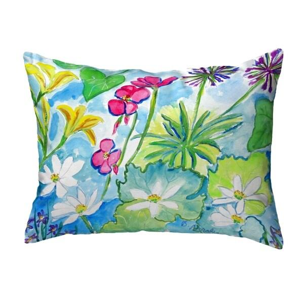 Wild Garden No Cord Pillow 16x20