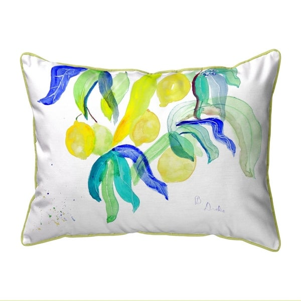 Lemon Tree Small Pillow 11x14