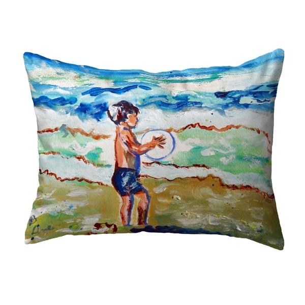 Boy & Surf No Cord Pillow 16x20
