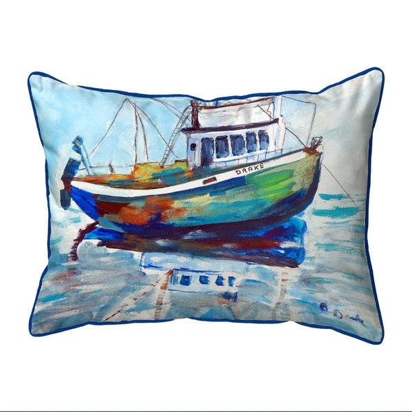 SS Drake Extra Large Zippered Pillow 20x24