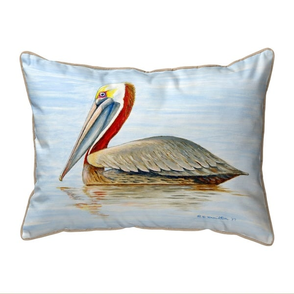 Summer Pelican Extra Large Pillow 20x24