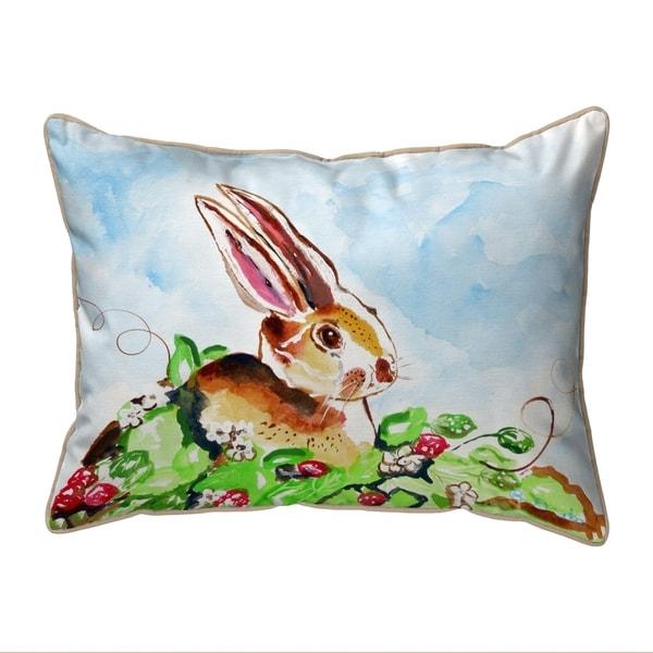 Jack Rabbit Right Small Pillow 11x14