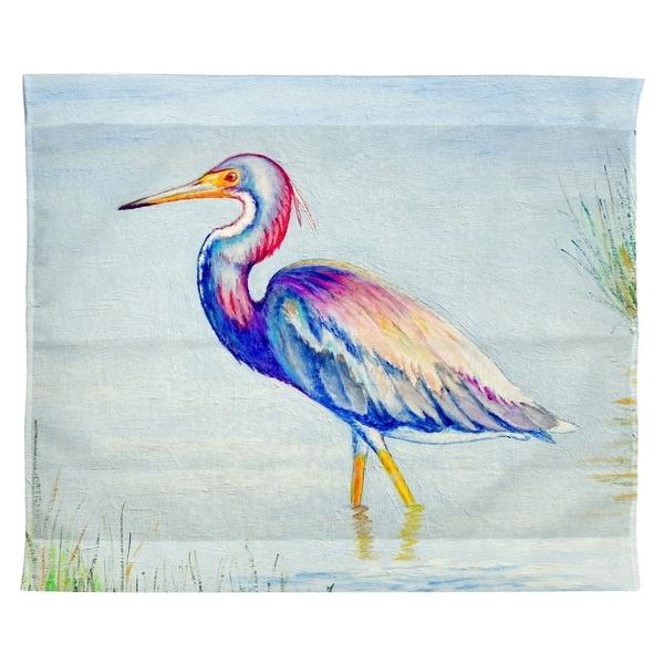 Tri-Colored Heron Wall Hanging 24x30