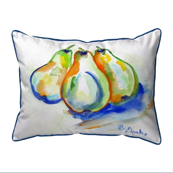 Three Pears Extra Large Pillow 20x24