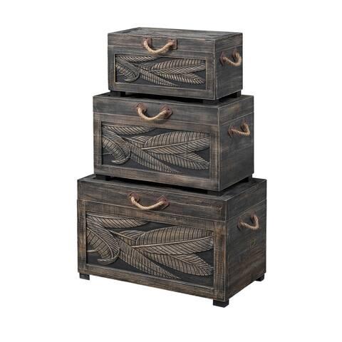 Set of Three Nesting Trunks