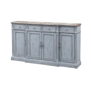 Link to Four Door Four Drawer Media Credenza Similar Items in Dining Room & Bar Furniture