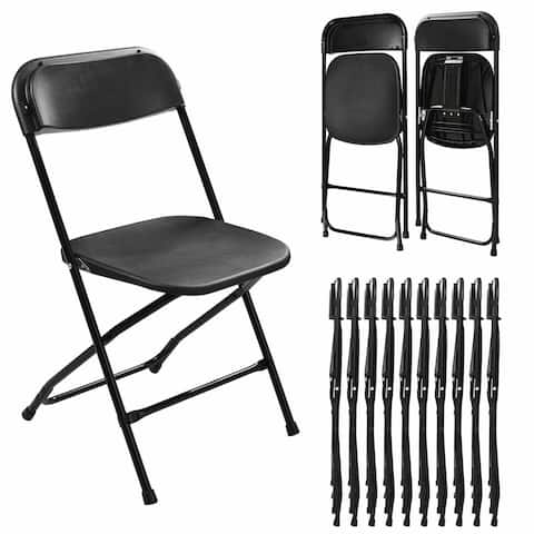 Folding Chairs Set of 5 for Outdoor/ Indoor