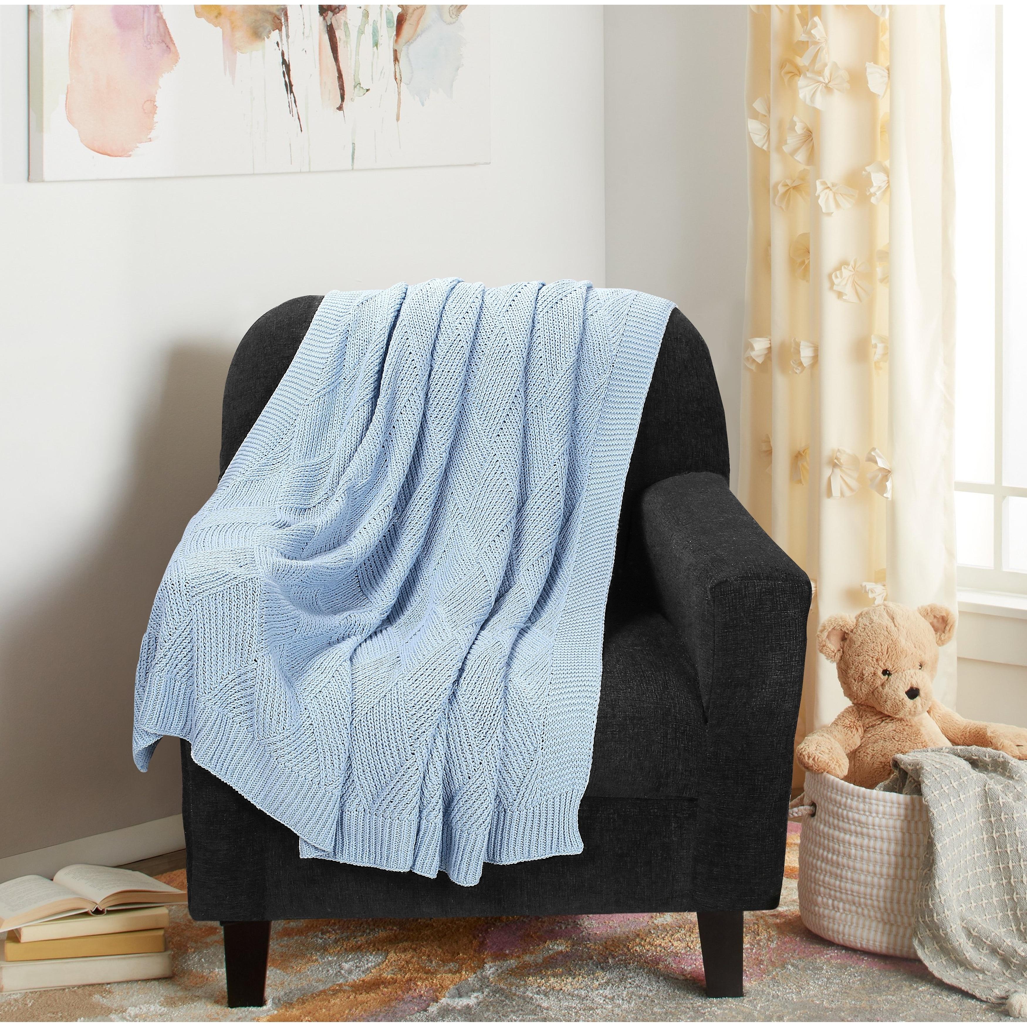Cotton Throw Blanket 50x60