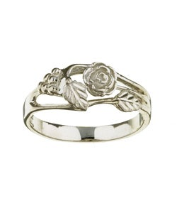 Black Hills Silver Women's Rose Ring