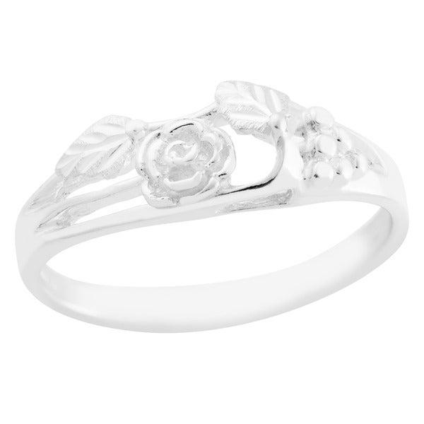 Black Hills Silver Women's Rose Ring