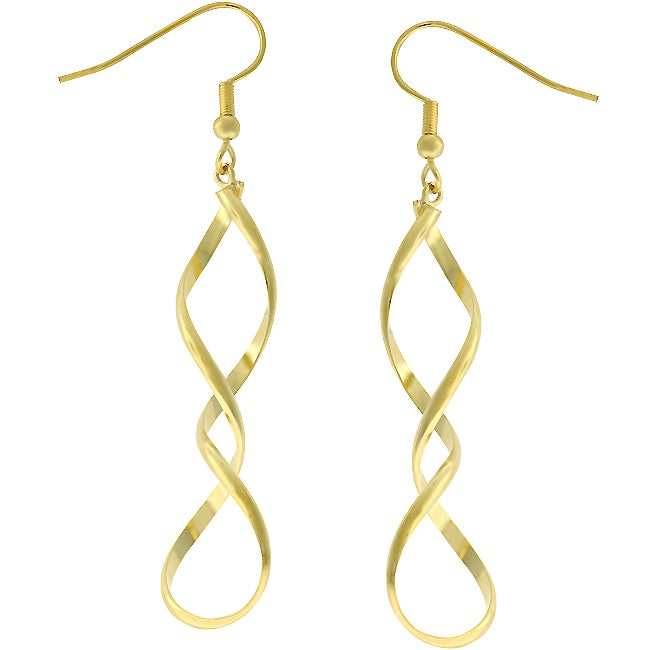 Kate Bissett Goldtone Drop Earrings