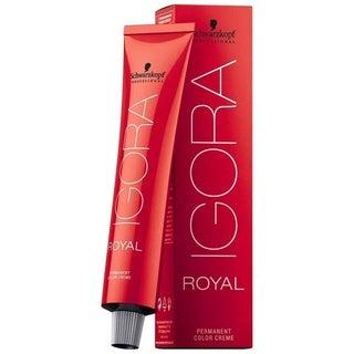 Schwarzkopf Igora Royal Permanent Hair Color 9-1 Extra Light Ash Blonde 2.1 Ounce