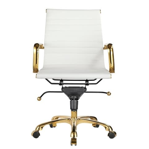 Copper Grove Braddan Classic Office Chair with Goldtone Finish