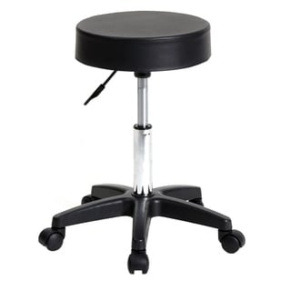 Counter Height Bar Stools, Salon Stools Chair Round Stool with Wheels