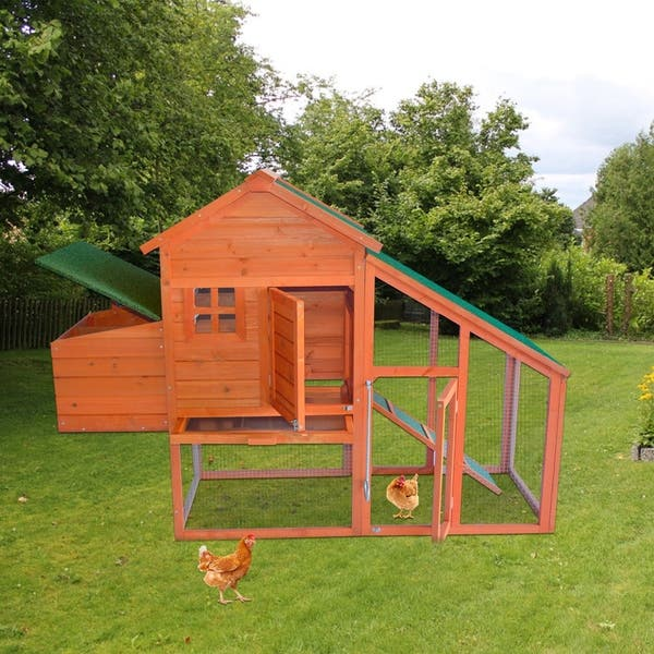 Shop Kinpaw Large Chicken Coop Wooden Hen House Customizable