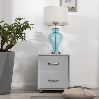 Merax 2 Drawers Nightstand