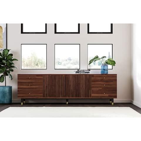 Carson Carrington Palmelund Rectangular 6-drawer TV Stand